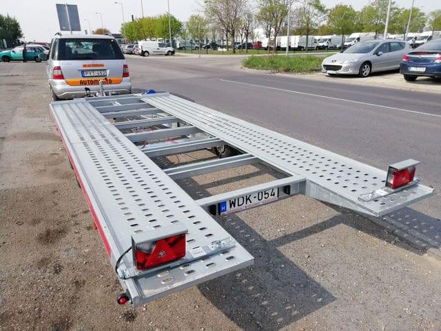 Autómentés Budapest tréler
